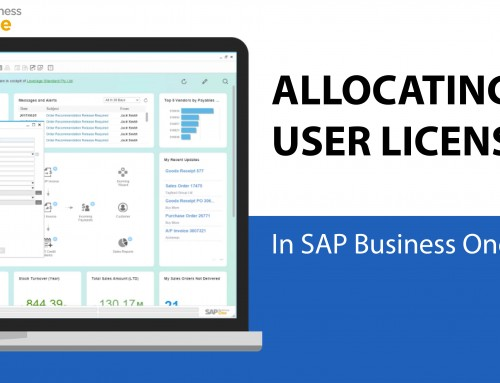 How to Allocate User Licenses in SAP Business One 9.2 [DEMO VIDEO]