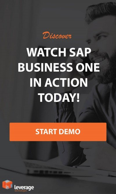Watch SAP Business One Demo Today